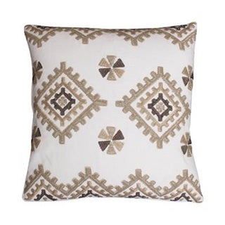 Thro by Marlo Lorenz Itotia Aztec White Decorative Throw Pillow