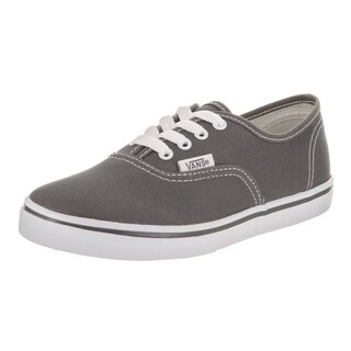 Vans Kids' Authentic Lo Pro Grey Canvas Skate Shoes