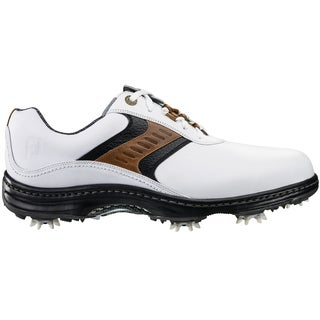 FootJoy Contour Series Golf Shoes 2016 Previous Season Style White/Taupe/Black