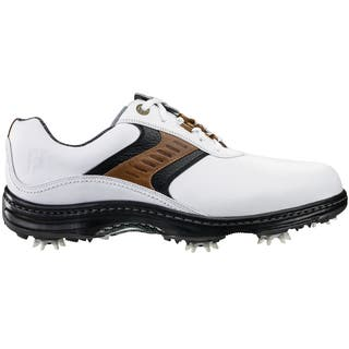 FootJoy Contour Series Golf Shoes 2016 Previous Season Style White/Taupe/Black|https://ak1.ostkcdn.com/images/products/14311078/P20892486.jpg?impolicy=medium