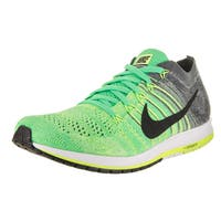 Nike Unisex Green/Grey Flyknit Streak 9 Men US / 10.5 Women US Running Shoe