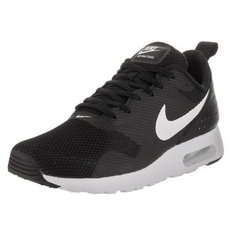 Nike Men's Air Max Tavas Black Textile Running Shoes