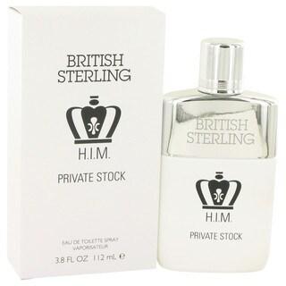 Dana British Sterling Him Private Stock Men's 3.8-ounce Eau de Toilette Spray
