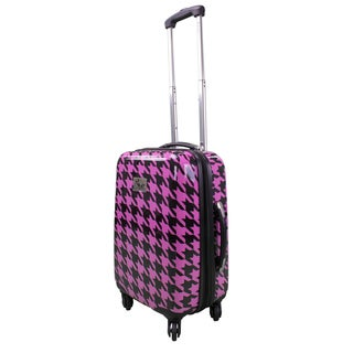 Chariot Houndstood 20-inch Hardside Lightweight Expandable Spinner Upright Luggage