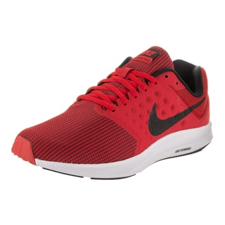 Nike Men's Downshifter 7 Red Synthetic Leather Running Shoe