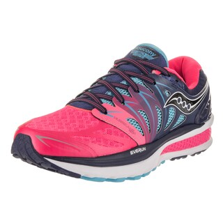Saucony Women's Hurricane ISO 2 Blue Synthetic-leather Running Shoes