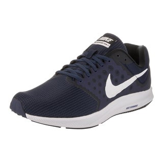 Nike Men's Downshifter 7 Midnight Navy Synthetic Leather Running Shoe