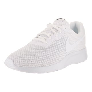 Nike Men's Tanjun White Fabric Running Shoe