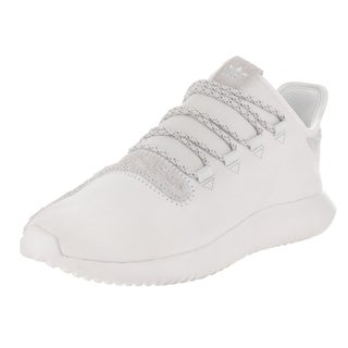 Adidas Men's Tubular Shadow Knit Originals White Leather Running Shoes