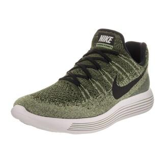 Nike Men's Lunarepic Low Flyknit 2 Green Running Shoe