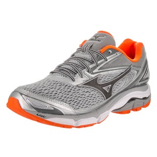 Mizuno Men's Wave Inspire 13 Grey Synthetic Leather Running Shoes