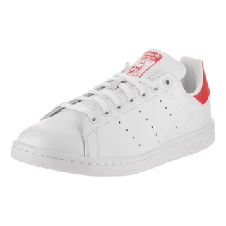 Adidas Men's Stan Smith Originals White Synthetic-leather Casual Shoes