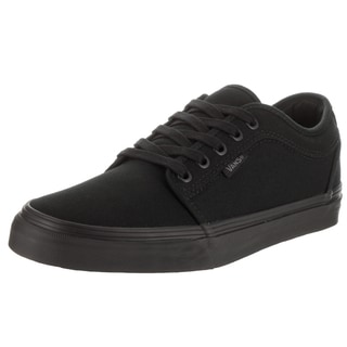 Vans Men's Chukka Black Canvas Low Skate Shoes