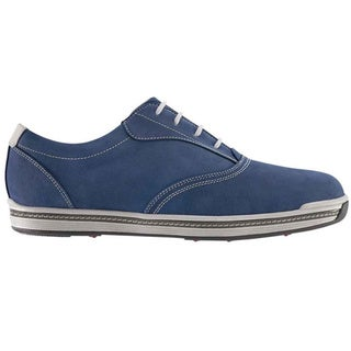 FootJoy Contour Casual Spikeless Golf Shoes Dark Blue
