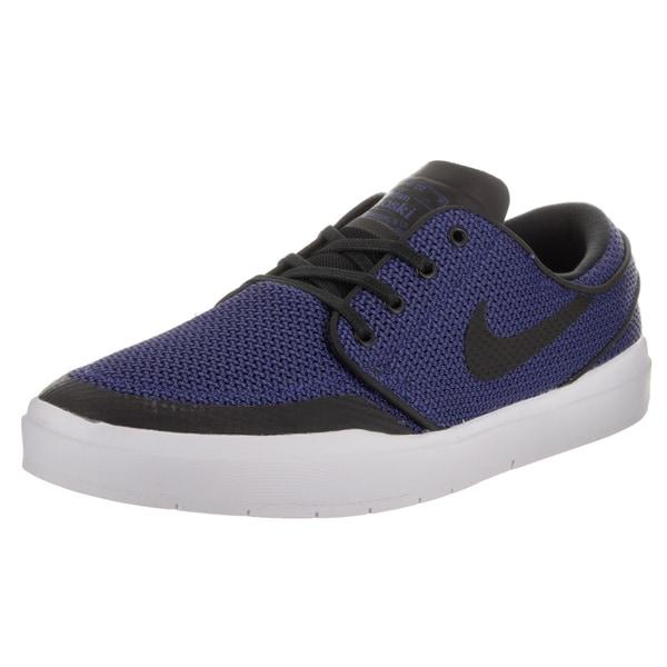 size 40 4e015 356ac Nike Men  x27 s Stefan Janoski Hyperfeel Xt Blue Textile Skate Shoe