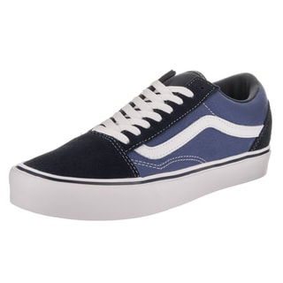 Vans Unisex Old Skool Lite Suede and Canvas Skate Shoes