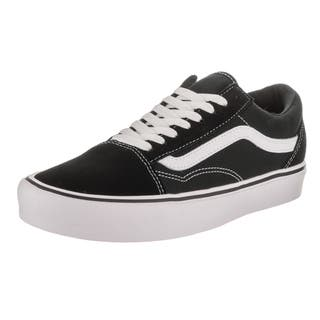 Vans Unisex Old Skool Lite Black Suede and Canvas Skate Shoe|https://ak1.ostkcdn.com/images/products/14311494/P20893117.jpg?impolicy=medium