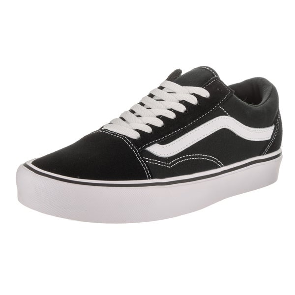 737d071df0 Shop Vans Unisex Old Skool Lite Black Suede and Canvas Skate Shoe ...
