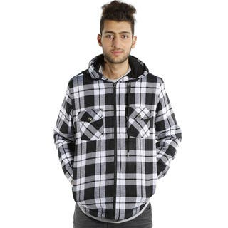 Men's Hooded Flannel Plaid Hooded Jacket https://ak1.ostkcdn.com/images/products/14311860/P20893095.jpg?impolicy=medium