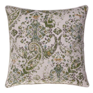 Savannah Cotton 24-inch x 24-inch Throw Pillow