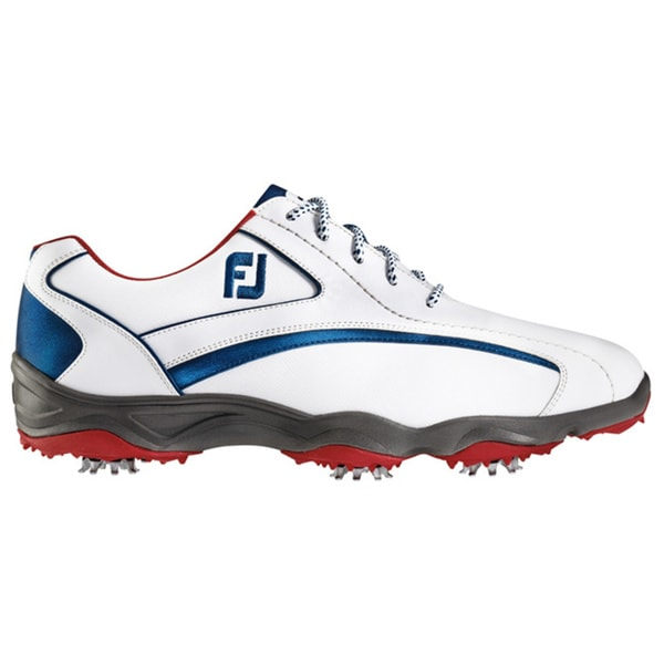 FootJoy Superlites Golf Shoes Previous Season Style 2016 White/Navy