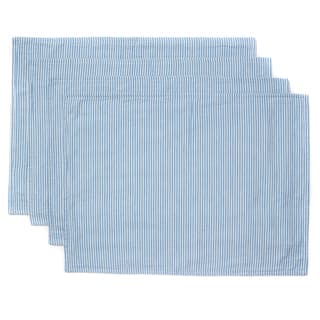CAPE COD SEERSUCKER PLACEMAT, BLUE (SET OF 4)