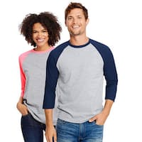 Hanes Unisex X-Temp Cotton Performance Baseball Tee