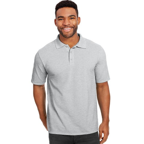 Hanes Men's X-Temp Fresh IQ Pique Polo