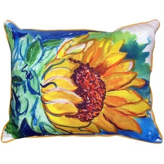 Windy Sunflower Pillow 16 x 20 inches