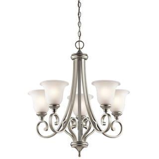 Kichler Lighting Monroe Collection 5-light Brushed Nickel LED Chandelier