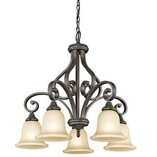 Kichler Lighting Monroe Collection 5-light Olde Bronze LED Chandelier