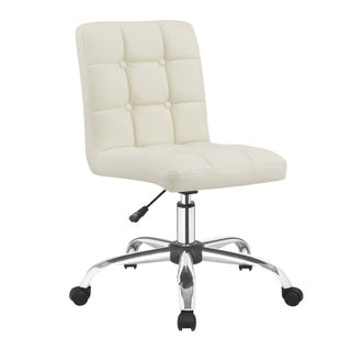 Porthos Home Parker Office Chair (Option: Cream)