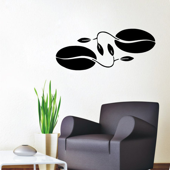 shop coffee beans wall decals coffee decal kitchen wall decor