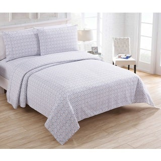 VCNY Home Polka 200 Thread Count 3 & 4 Piece Sheet Set