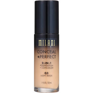 Milani Conceal + Perfect 2-in-1 Foundation Concealer Light Beige