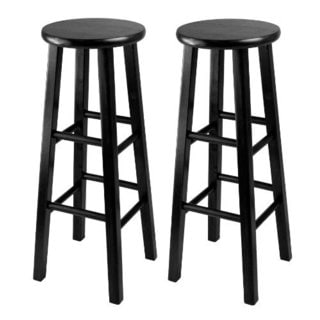 Set of 2, Bar Stool, 29-inch Square Leg Stools