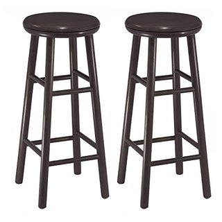 Set of 2, 30-inch Swivel Bar Stool, Assembled
