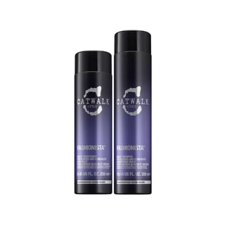 TIGI Catwalk Fashionista Violet Sulfate-free Shampoo and Conditioner Set