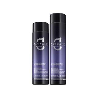 TIGI Catwalk Fashionista Violet Sulfate-free Shampoo and Conditioner Set