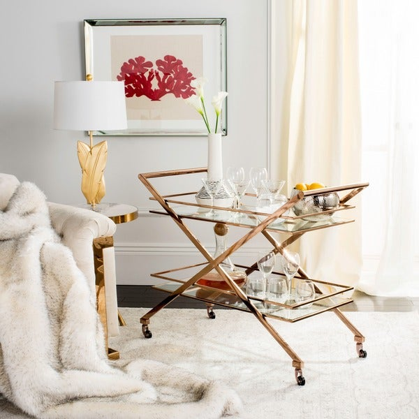 Safavieh Couture High Line Collection Marcelo Bar Cart. Opens flyout.