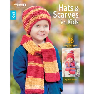 Leisure Arts-Hats & Scarves For Kids
