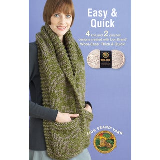 Leisure Arts-Easy & Quick -Wool-Ease Thick & Quick