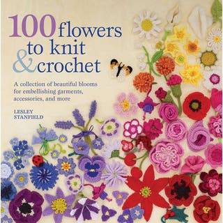 St. Martin's Books-100 Flowers To Knit & Crochet|https://ak1.ostkcdn.com/images/products/14322151/P20902344.jpg?impolicy=medium