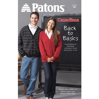 Patons-Back To Basics - Canadiana