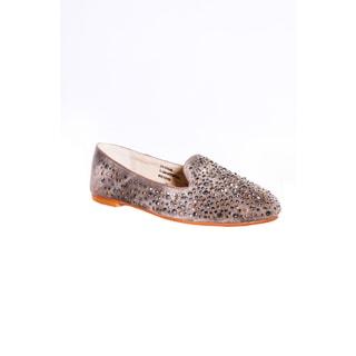 Hadari Women's Tiara Studded Loafer Flat