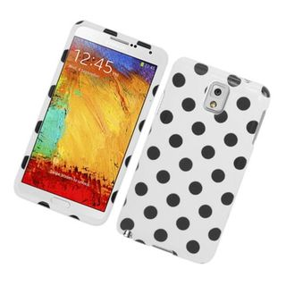 Insten Polka Dots Hard Snap-on Case Cover For Samsung Galaxy Note 3 Note III
