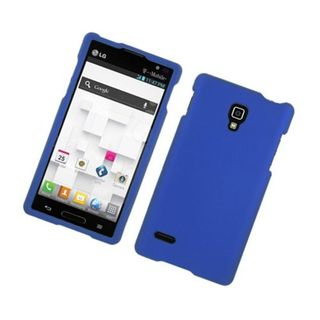 Insten Hard Snap-on Rubberized Matte Case Cover For LG Optimus L9 P769