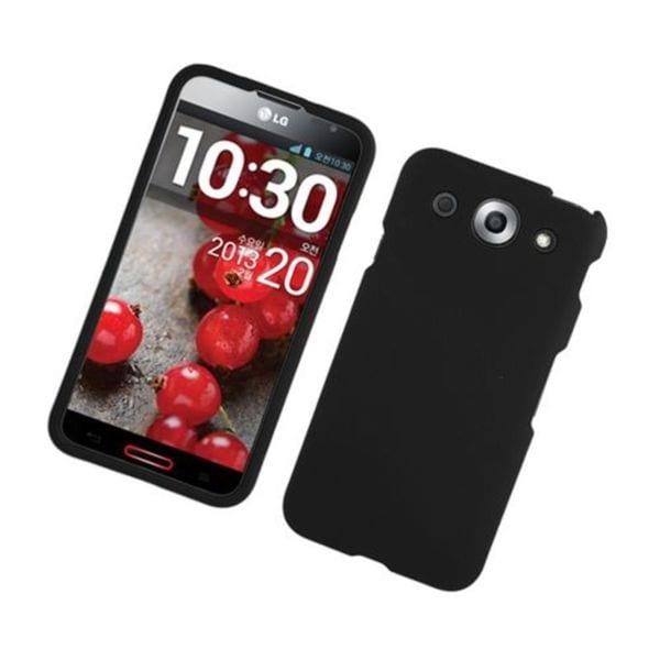 Insten Hard Snap-on Rubberized Matte Case Cover For LG Optimus G Pro