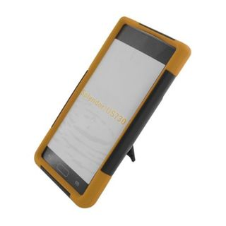 Insten Hard PC/ Silicone Dual Layer Hybrid Case Cover with Stand For LG Splendor US730 / Venice LG730