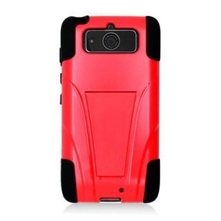 Insten Hard PC/ Silicone Dual Layer Hybrid Case Cover with Stand For Motorola Droid Mini